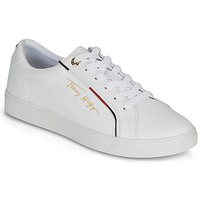 Shoes Women Low top trainers Tommy Hilfiger TOMMY HILFIGER SIGNATURE SNEAKER White