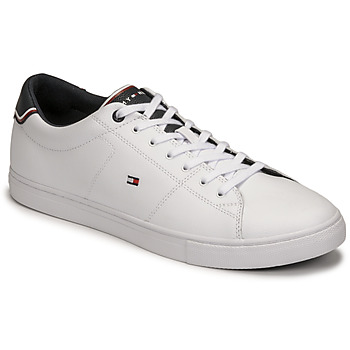 Shoes Men Low top trainers Tommy Hilfiger ESSENTIAL LEATHER SNEAKER White