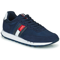 Shoes Men Low top trainers Tommy Jeans RETRO MIX TJM RUNNER Marine