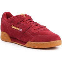 Shoes Men Low top trainers Reebok Sport Workout Plus MU Red
