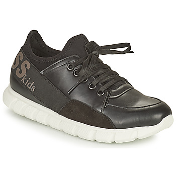 Shoes Girl Low top trainers Guess SCARLETT Black