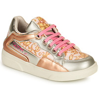 Shoes Girl Low top trainers Guess CAMY White / Gold