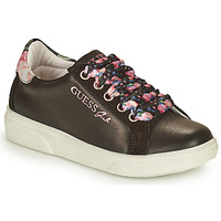 Shoes Girl Low top trainers Guess MILA Black