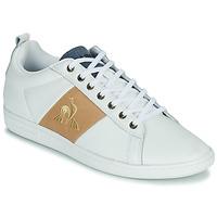 Shoes Men Low top trainers Le Coq Sportif COURTCLASSIC White / Tan