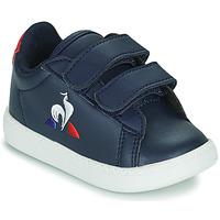 Shoes Children Low top trainers Le Coq Sportif COURTSET INF Blue