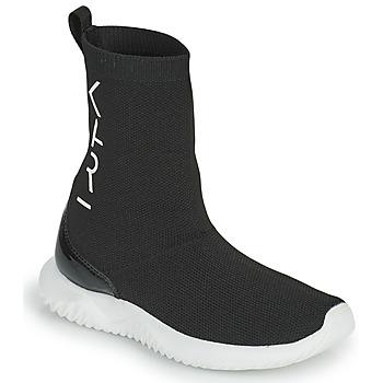 Shoes Girl Hi top trainers Karl Lagerfeld HEROS Black