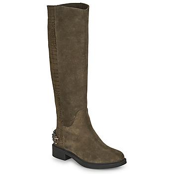 Shoes Women High boots Elue par nous KOFESS Kaki