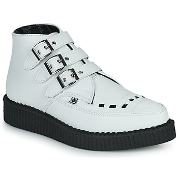 Shoes Mid boots TUK POINTED CREEPER 3 BUCKLE BOOT White