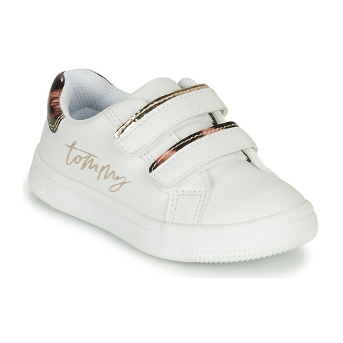 Shoes Girl Low top trainers Tommy Hilfiger T1A4-31156-1242X048 White