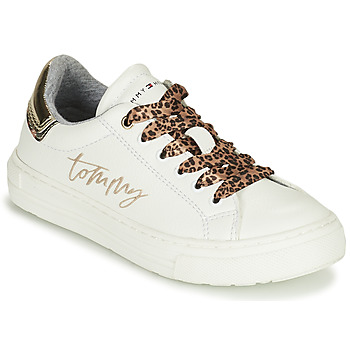 Shoes Girl Low top trainers Tommy Hilfiger T3A4-31164-1242X048 White