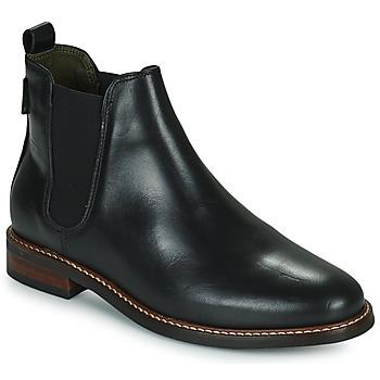Shoes Women Mid boots Barbour FOXTON Black