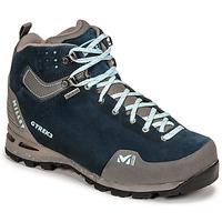 Shoes Women Walking shoes Millet G TREK 3 GORETEX Green / Blue