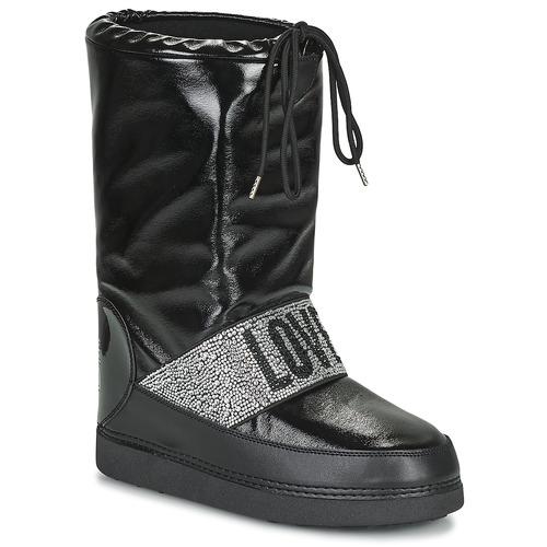 Shoes Women Snow boots Love Moschino JA24042G1D Black