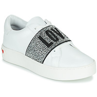 Shoes Women Low top trainers Love Moschino JA15013G0D White