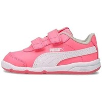 Shoes Children Low top trainers Puma Stepfleex 2 SL VE V Inf White, Pink