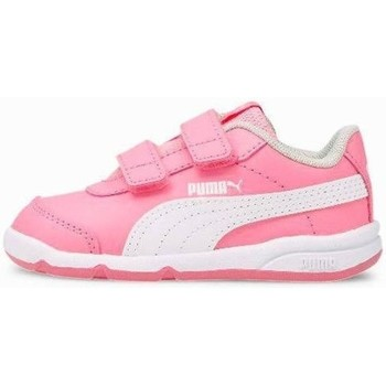 Shoes Children Low top trainers Puma Stepfleex 2 SL VE V PS White, Pink
