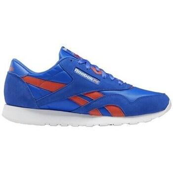 Shoes Men Low top trainers Reebok Sport CL Nylon Blue, Orange
