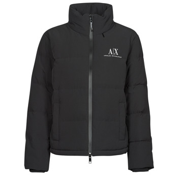 Clothing Women Duffel coats Armani Exchange 6KYB11 Black