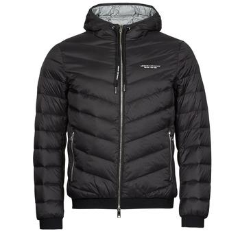 Clothing Men Duffel coats Armani Exchange 8NZB53 Black