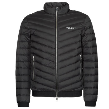 Clothing Men Duffel coats Armani Exchange 8NZB52 Black