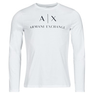 Clothing Men Long sleeved tee-shirts Armani Exchange 8NZTCH White
