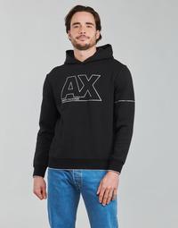 Clothing Men Sweaters Armani Exchange 6KZMFF Black