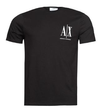 Clothing Men Short-sleeved t-shirts Armani Exchange 8NZTPH Black
