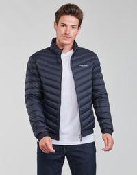Clothing Men Duffel coats Armani Exchange 8NZB52 Marine