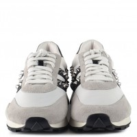 Shoes Women Low top trainers Ash  White / Grey /  black