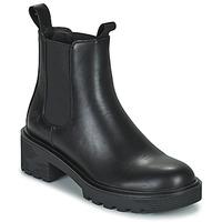 Shoes Women Mid boots Lumberjack RAMONE BEATLES Black