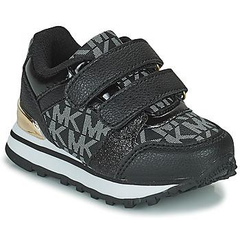 Shoes Girl Low top trainers MICHAEL Michael Kors BILLIE JOGGER H&L Black / Gold