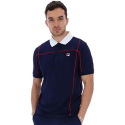 Clothing Men T-shirts & Polo shirts Fila  Navy