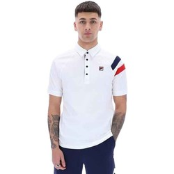 Clothing Men T-shirts & Polo shirts Fila  White