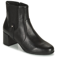 Shoes Women Ankle boots Geox ANNYA Black