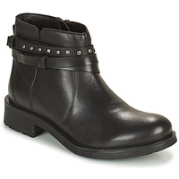 Shoes Women Ankle boots Geox RAWELLE Black