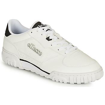 Shoes Men Low top trainers Ellesse TANKER LO LTH White