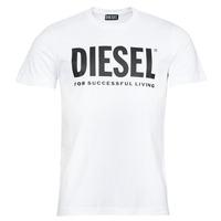 Clothing Men Short-sleeved t-shirts Diesel T-DIEGOS-ECOLOGO White