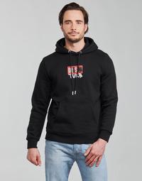 Clothing Men Sweaters Diesel S-GIRK-HOOD-B8 Black