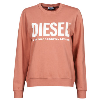Clothing Women Sweaters Diesel F-ANGS-ECOLOGO Pink