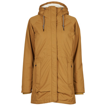 Clothing Women Parkas Columbia SOUTH CANYON SHERPA LINED JACKET Brown