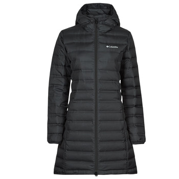 Clothing Women Duffel coats Columbia LAKE DOWN LONG HOODED JACKET Black