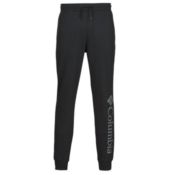 Clothing Men Tracksuit bottoms Columbia M CSC LOGO FLEECE JOGGER II Black / Grey