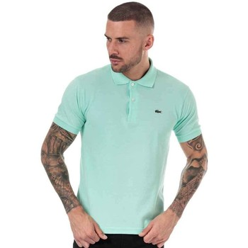Clothing Men T-shirts & Polo shirts Lacoste  Green