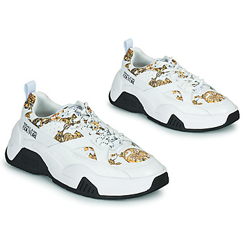 Shoes Women Low top trainers Versace Jeans Couture FELINA White / Printed / Baroque