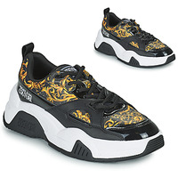 Shoes Women Low top trainers Versace Jeans Couture FELINA Black