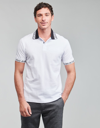 Versace Jeans Couture JACQUARD POLO T.SHIRT