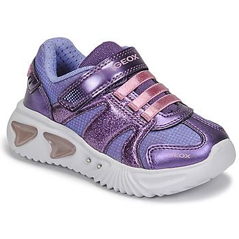 Geox  ASSISTER  girls's Children's Shoes (Trainers) in Purple