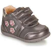 Shoes Girl Low top trainers Geox ELTHAN Grey