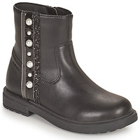Shoes Girl Mid boots Geox ECLAIR Black