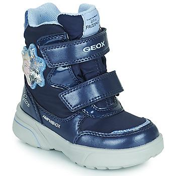 Geox  SVEGGEN ABX  girls's Children's Snow boots in Blue